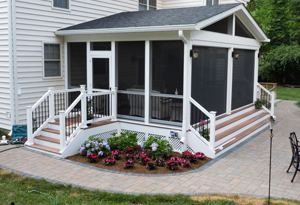 Screened In Porch Ideas Design screenedfrontporch screen porch in shorewood il screened porches photo Screened Porch Ideas