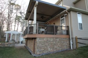 While Louvered Patio Roof Systems May Be A Fairly Recent Innovation,  Diamond Decks Has Been Providing Quality Deck And Patio Installations For  Over Twenty ...