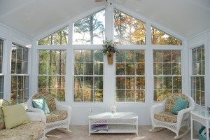 Cathedral-Style Sunroom