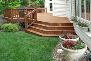 Wood Deck Builder Ellicott City Columbia Annapolis