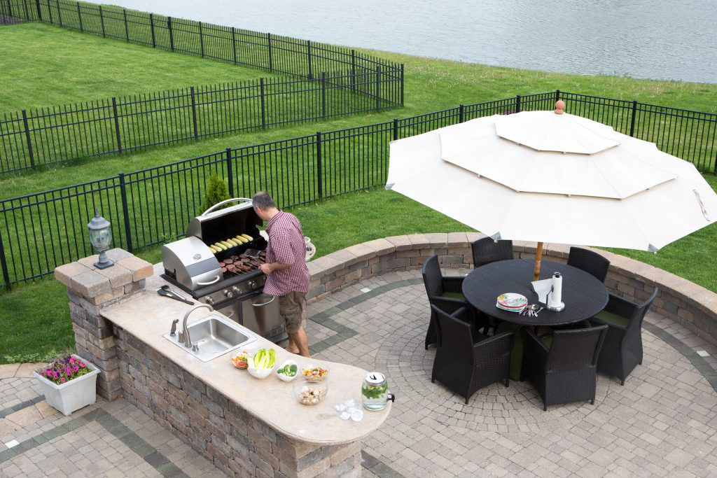 Outdoor Kitchen Installation in Severn, MD